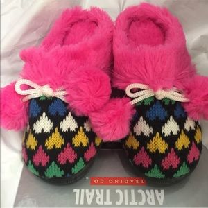 Arctic Trail Slippers Youth Girls Small 11/12